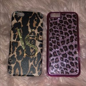 Two animal print IPHONE 6S cases
